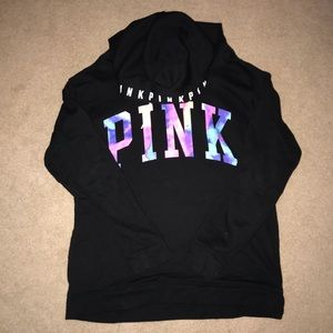 Victoria's Secret Pink Crossover Tunic Hoodie
